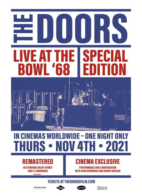 THE DOORS: LIVE AT THE BOWL '68 - DOLBY ATMOS
