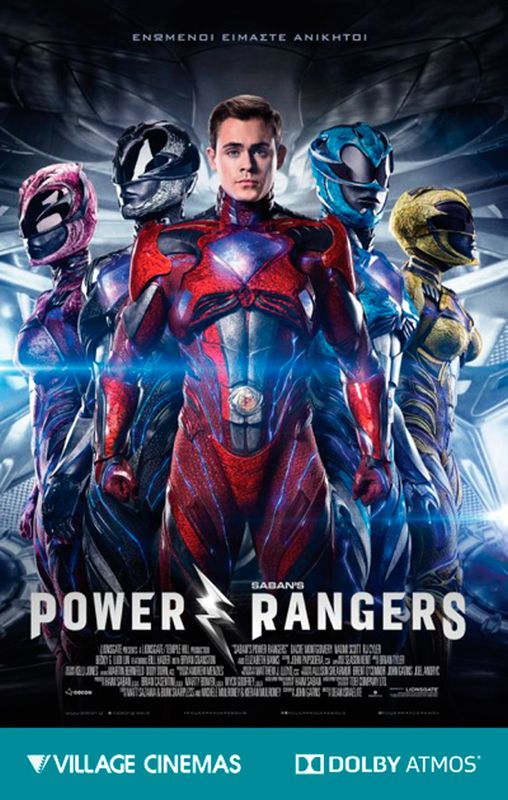 POWER RANGERS - DOLBY ATMOS